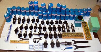 125 Techniks Cat 40 Tooling Kit For Mori-seiki Cnc Mill-er Chuckstudcolletemh