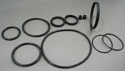 Sears 9232 Du-all Eight 8mm Projector 7 Belt 4 Tire Kit Tilton & 6 Round Belts
