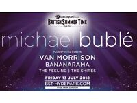2 Tickets Michael Bublé Hyde Park 13th July