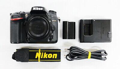 "# Nikon D7200 Digital SLR Camera Black Body ""42292 cut"" S/N 780358"