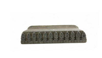 Antique Bunta Stamped Wood Printing Fabric Textile Batik Rajasthan India NP17B9