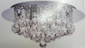 Glass ball Ceiling Light