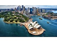RETURN fligh to SIDNEY from 8th of NOV to 24th from LONDON