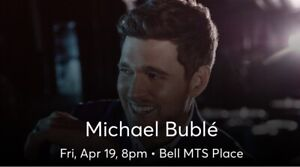 TWO Michael Buble Concert Tickets FRIDAY NIGHT!