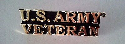 U.S. Army Veteran Hat Pin