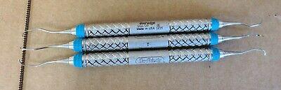 Lot Of 3 Hu-friedy Everedge Sg129 Dental Instruments 1215 Lot F
