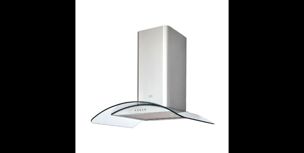 Cooke Lewis Clcgs60 Inox Stainless Steel Curved Glass Cooker Hood W 600mm In Burnage Manchester Gumtree