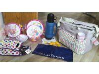 Lakeland picnic cool bag fully equipped