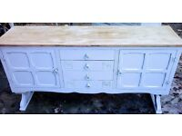 shabby chic vintage sideboard tv stand display table