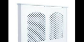 COLOURs Cambridge Medium White Painted OR Unifinished Radiator Cover RRP £70 B&Q