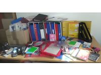 Job lot for Car Boot Sale - stationery items