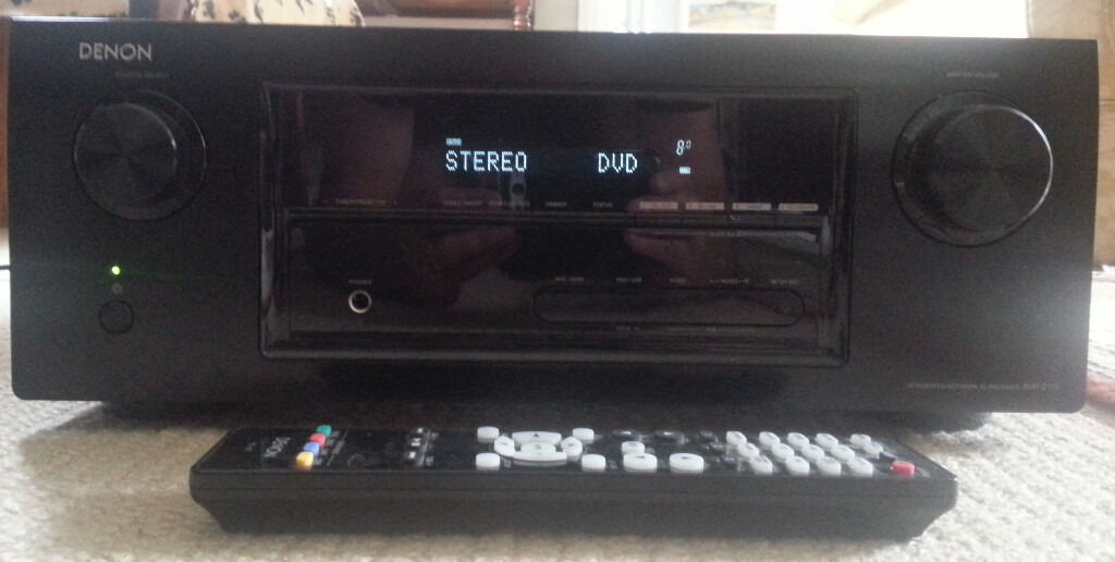 Denon Audio Video Receiver Avr 2113 Hdmi Monitor Out Not