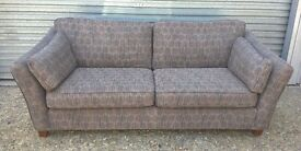 *FREE DELIVERY* Immaculate Marks & Spencer Large Brown Sofa ~ Two or Three Seater (next dfs leather)