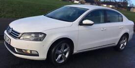 Cheapest White 61/2012 VW Passat 2.0 TDI Blue-motion.HPI CLEAR,LONG MOT. 1 OWN.nice con/drive