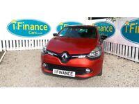 CAN'T GET CREDIT? CALL US! Renault Clio 1.2 16v Dynamique MediaNav, 2015- £200 DEPOSIT, £50 PER WEEK