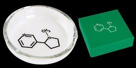 Damien Hirst - Original Glass Pharmacy Restaurant Ashtray Signed and Boxed