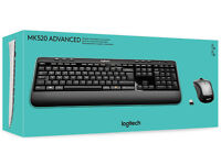 Logitech New MK520 Wireless Professional Keyboard & Mouse