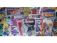 WANTED - Marvel, DC, etc Comics or Books