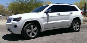 2014 Jeep Grand Cherokee Overland LOADED