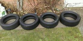 4X Firestone tz300 195/50/R15 tyres never used brand new