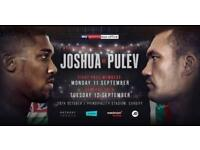 2 Anthony Joshua Tickets For Sale!