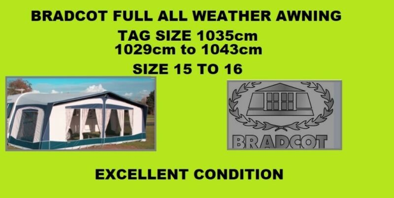 1035 Awning for sale in UK | 60 second-hand 1035 Awnings