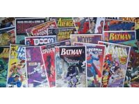 WANTED Marvel, DC, Independent Comics and Novels, Willing to Travel, Cash Waiting