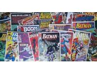 WANTED - Marvel, DC comics and Independent - will collect