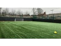 Casual 5-a-side football in Acton week nights at 7pm. All welcome!
