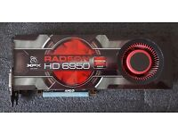 XFX AMD Radeon HD6950 Graphics Card PCI-e 2 GB GDDR5