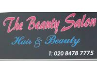 Beautician and hairdresser