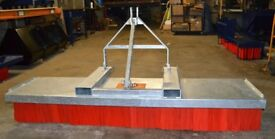 Forklift Brush Yard Sweeper Attachment With 3 Point Link Option