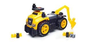 NEW Mega Bloks Ride-Ons, Cat Ride-On with Excavator