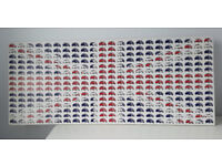 Union Flag Canvas Art from Mini Cooper Cars