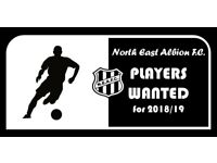 Players wanted for Sunday football team