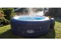 Hot Tub hire including walled gazebo