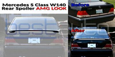 Mercedes W140 S-Klasse Heckspoiler Hecklippenstamm Sport Design ABS (1994-1998)
