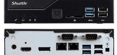 Shuttle XPC Slim DH310V2 Mini Barebone PC Intel H310 Support 65W Coffee Lake CPU No Ram No HDD//SSD No CPU No OS