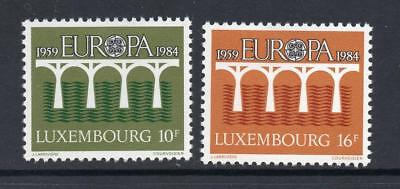 LUXEMBOURG MNH 1984 SG1131-1132 EUROPA