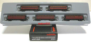 87911 MARKLIN Z Passenger Train Cars NEW YORK CENTRAL & HUDSON RIVER RAILROAD