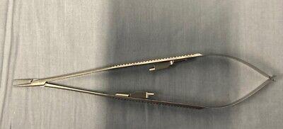 Scanlan 6006-90 Diamond Dust Jacobson Micro Needle Holder Straight 7 14