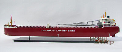 Thunder Bay Canada Steamship Lines Display Model   St  Lawrence River Freighter