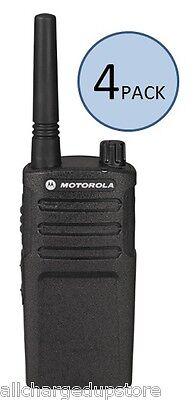 4 Pack Motorola RMU2040 Two Way Radio Walkie Talkies - Best Price! Ships Fast!