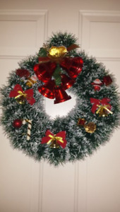 Christmas  Decorations Handcrafted Elegant  Wreath 16*16 in.