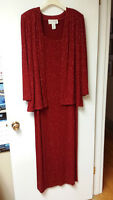 Ladies formal dress and jacket - size 14