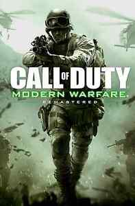 MODERN WARFARE REMASTERED DLC CODE FOR PS4  UP FOR SALE OR TRADE Cambridge Kitchener Area image 1