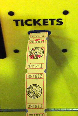 Five Nights At Freddy's 25 Arcade Tickets - Birthday Party Favor Party Pack FNAF - Party Tickets