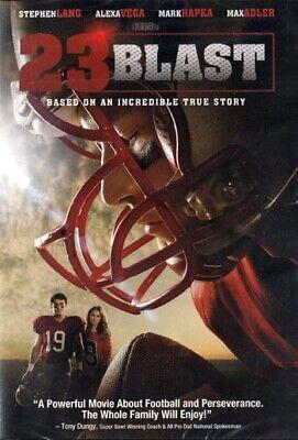 NEW Sealed Christian Football Drama WS DVD! 23 Blast (Mark Hapka, Stephen Lang) ()