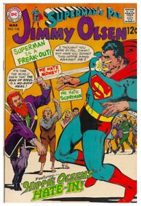 """Superman's Pal Jimmy Olsen """"Hippie Olsen's Hate-In"""" bon etat"""