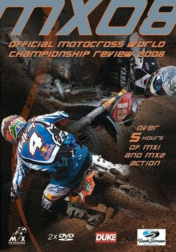 MX08 Motocross World Championship - Official review 2008 (New 2 DVD set)